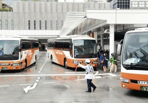 Крупнейший в Японии автовокзал открылся в Синдзюку