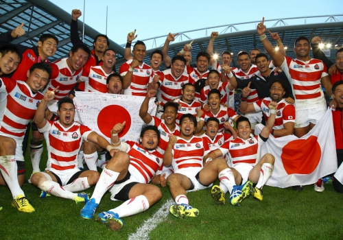 Историческая победа сборной Японии над сборной Южной Африки на Чемпионате…