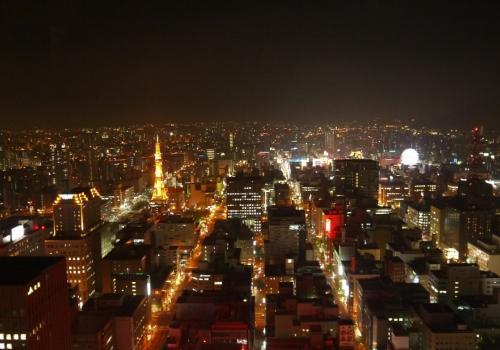 Три японских города с самыми прекрасными ночными видами